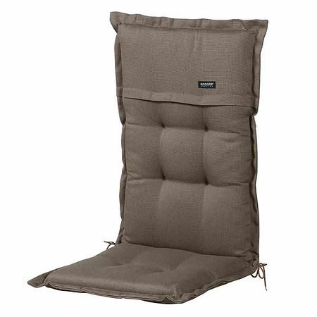 MADISON Auflage für Sessel hoch, Rib liver, Bezug 100% Polyacryl