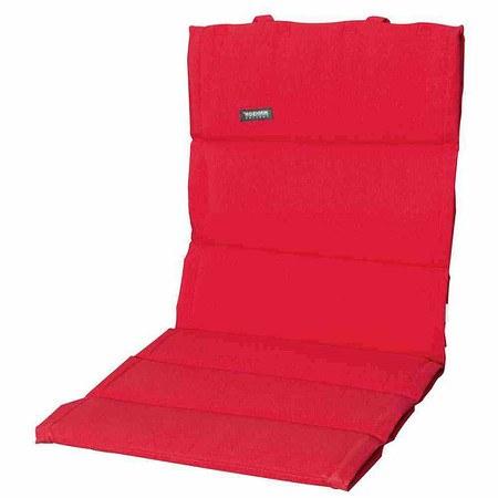 MADISON Auflage für Sessel niedrig, Panama rot, dünne Ausführung, 75% Baumwoll