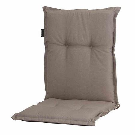 MADISON Auflage für Sessel niedrig, Panama taupe, 75% Baumwolle 25% Polyester