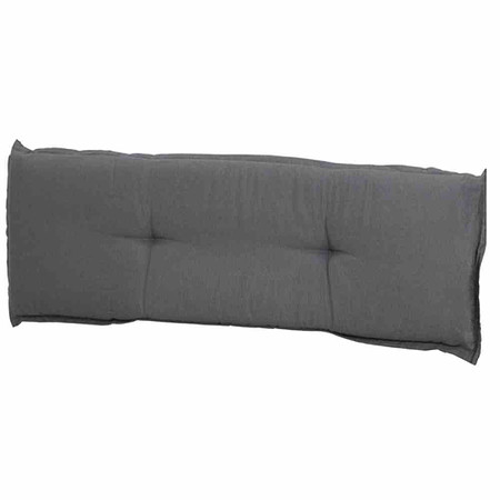 MADISON Bankauflage 110 cm, Panama grau, 75% Baumwolle 25% Polyester