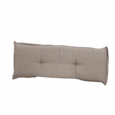 MADISON Bankauflage 140 cm, Panama taupe, 75% Baumwolle 25% Polyester
