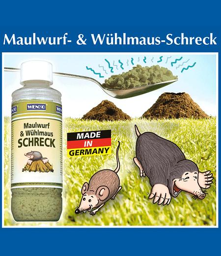 Maulwurf- & Wühlmaus-Schreck,1 Pack.