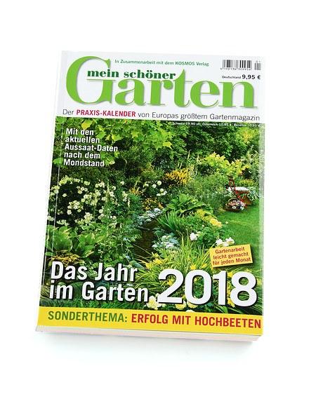 Mein Schöner Garten Shop mein schöner garten praxis kalender 2018 günstig kaufen