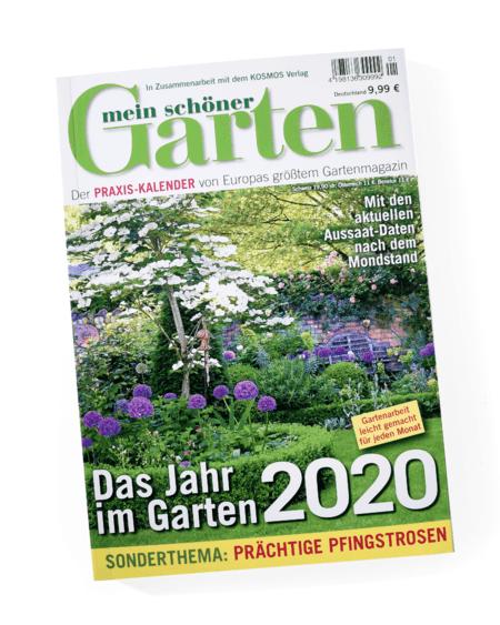 Mein schöner Garten Praxis Kalender 2020