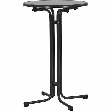 MFG Stehbiertisch, Ø 70x110 cm, grau, klappbar