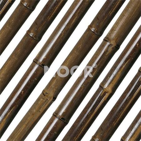 NOOR Bambusrohr Teak Ø60/70mm 180cm Bambus Rohr Tonkin