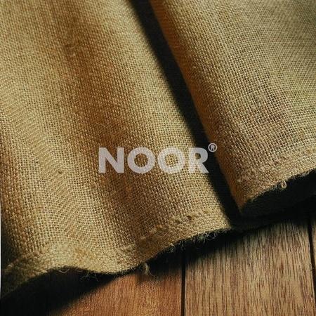 NOOR Jute-Zuschnitt schwer 0,90 x 5 m natur / H305