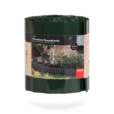 NOOR Rasenkante Premium 15cm x 9 lfm grün