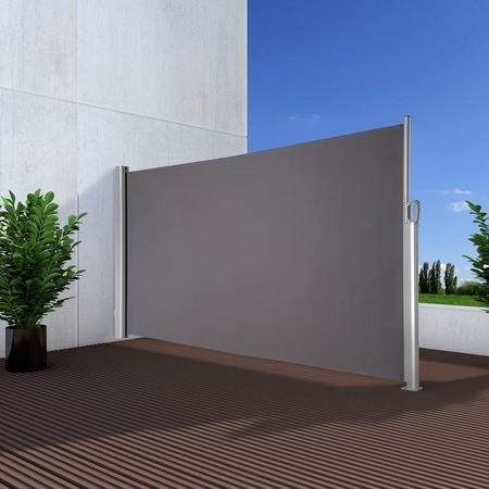 NOOR Seitenmarkise Exklusiv 160x350 cm anthrazit