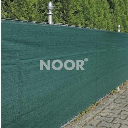 NOOR Zaunblende Sichtschutz Profiware grün 250g/m² geöst