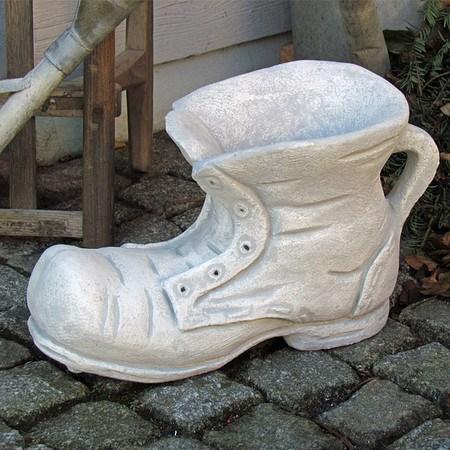 Pflanzgefäß Schuh