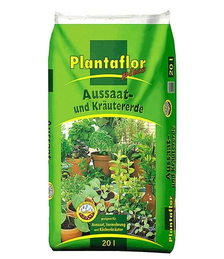 Plantaflor Aussaat- & Kräuter-Erde 20 Liter,1 Sack