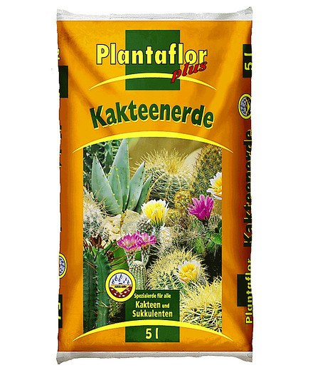 Plantaflor Plantaflor plus Kakteen-Erde 5 Liter,1 Sack