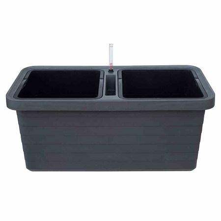 PLASTIA Bewässerungskasten Berberis Duo, mit Rollen anthrazit