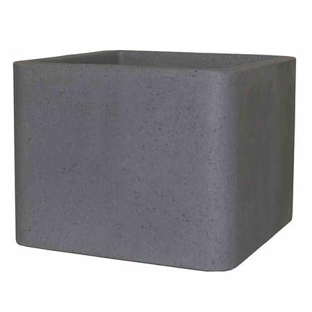 PP-PLASTIC Cube, 40 cm zementgrau