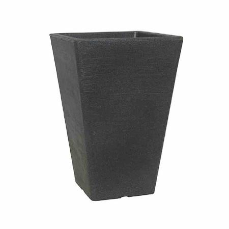 PP-PLASTIC Gefäß Ken, schwarz grau