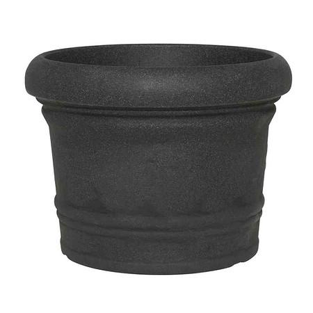 PP-PLASTIC Gefäß Venice, schwarz granit, Ø60cm