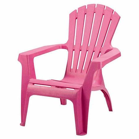 PROGARDEN Deckchair Dolomiti, pink, Vollkunststoff