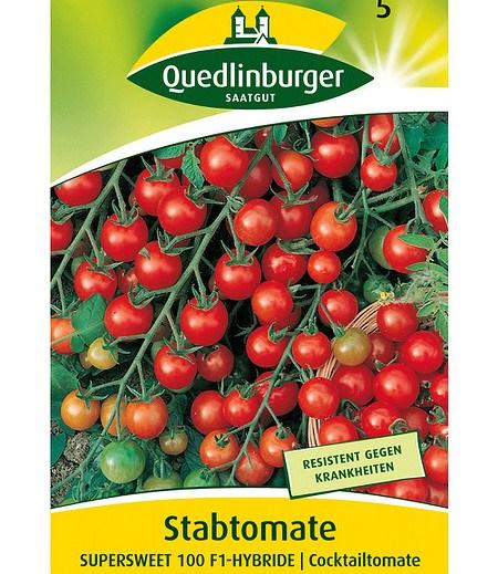 """Quedlinburger Cocktailtomate """"Supersweet 100"""" F1,1 Portion"""