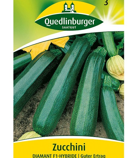"Quedlinburger Zucchini ""Diamant"" F1,1 Portion"