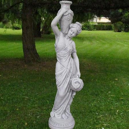 """Quellstein-Figur, Statue """"Hebe"""" Göttin der Jugend"""