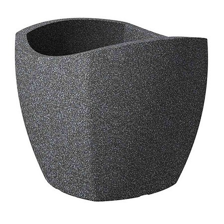 SCHEURICH Wave Cubo, schwarz granit