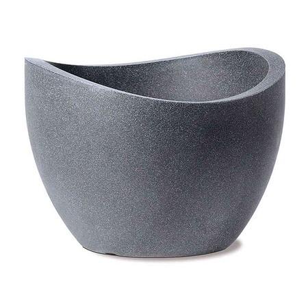 SCHEURICH Wave Globe, schwarz granit