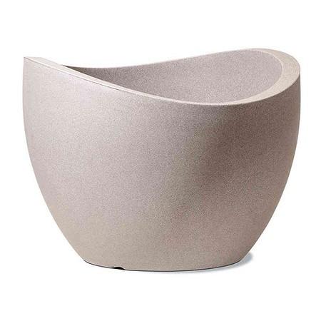 SCHEURICH Wave Globe, taupe granit