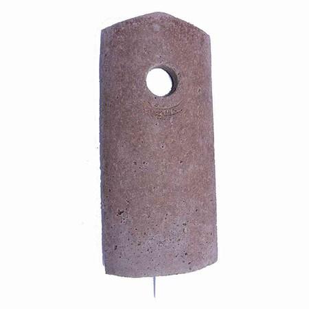 SCHWEGLER Vorderwand für Nisthöhlen 1B/2M Ø32mm, Ersatz Vorderwand für Nisthöhle