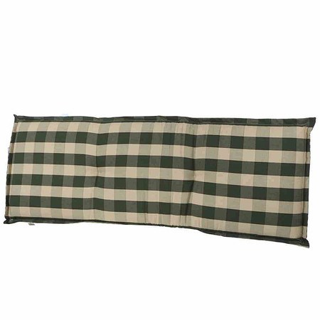 SCHWIENHORST Bankauflage Kent 140x47x8 cm, grün, 100% Polyacryl ...