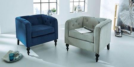 Sessel Lounge Grau