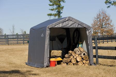 ShelterLogic Gerätehaus Shed-in-a-Box 9m²,300x 300x 240 cm (BxTxH)