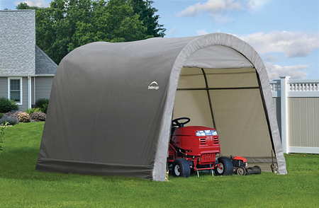 ShelterLogic Gerätehaus Shed-in-a-Box 9m²Round Top , 300x 300x 240 cm (BxTxH)