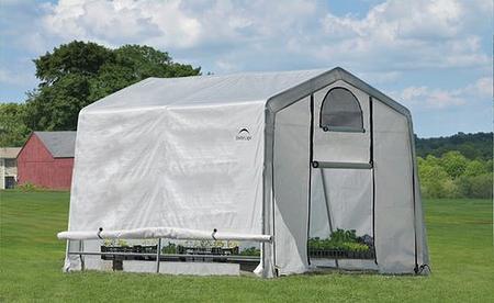 ShelterLogic Gewächshaus 9m² , 300x 300x 240 cm (BxTxH)