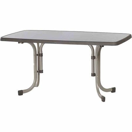 SIEGER Tisch 90x150 cm, champagner, Dekorplatte