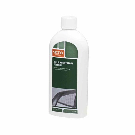 SIENA GARDEN Aluminium & Kunststoff Politur, 500ml / Flasche