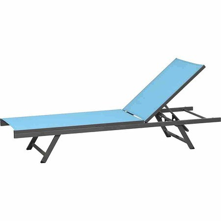 siena garden aluminium liege tropic sky blue gestell. Black Bedroom Furniture Sets. Home Design Ideas