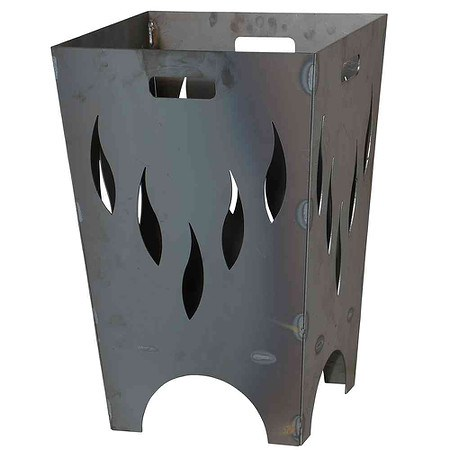 SIENA GARDEN Feuerkorb FLAMIA, Stahl anthrazit LxBxH:40x40x60cm