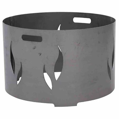 SIENA GARDEN Feuerschalenaufsatz, Stahl silber/anthrazit, passend zu der Feuerschal