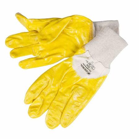 SIENA GARDEN Handschuh Yellow Nitril, Größe: 10, Bw, 3/4 Nitril, Gr 10