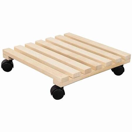 SIENA GARDEN Holz-Rolluntersetzer eckig Buche, 5 + 2 Latten
