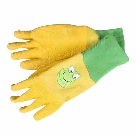 SIENA GARDEN Kinderhandschuh Froggy, Größe5 Material: Baumwolle und Latex