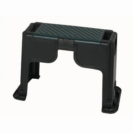SIENA GARDEN Kunststoff Kniebank mit Staufach Farbe: schwarz/grün