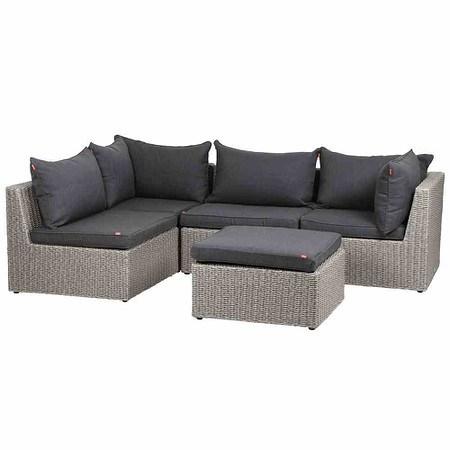 SIENA GARDEN Lounge Set Monet 5-teilig, inklusive Kissen günstig ...