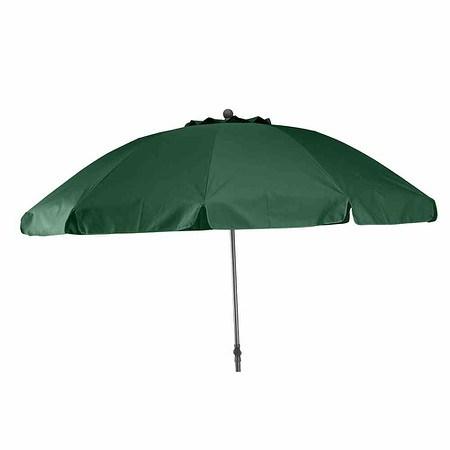 SIENA GARDEN Schirm Tropico Ø 250 cm, grün Gestell anthrazit/grün UV+50