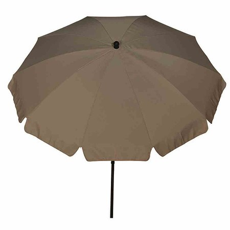 Siena Garden Schirm Tropico O 250 Cm Taupe Gestell Anthrazit