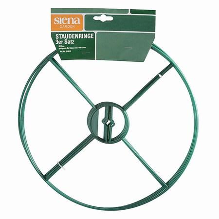 SIENA GARDEN Staudenhalter, Durchmesser: 30cm, 3er-Pack, 30cm Durhcmesser