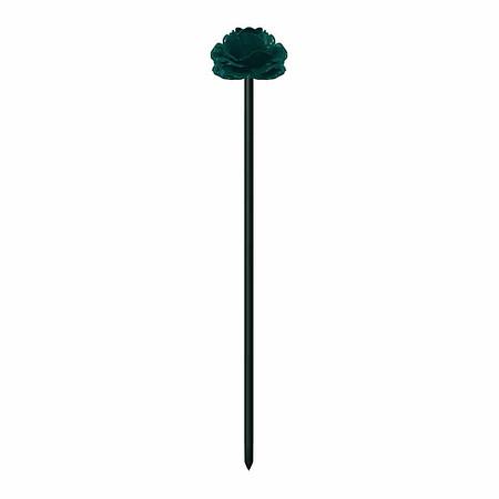 SIENA GARDEN T&T Fiberstab Blume grün, 100cm Ø8 mm, mit Kupplung