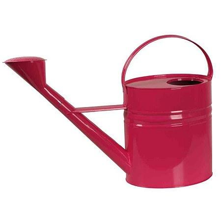 SIENA GARDEN Zinkgießkanne 10l, Stahlblech pink