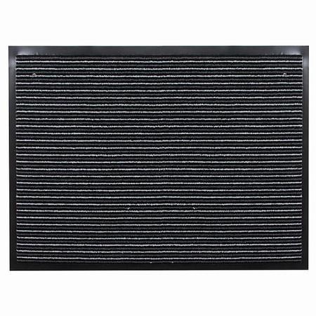 SIENA HOME Fußmatte Strips 60 x 80 cm anthrazit